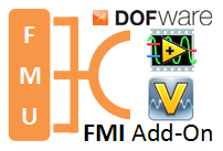 Dofware releases the FMI add-on for NI VeriStand & LabVIEW 1.5.1 Version
